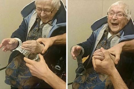 Cụ bà 99 tuổi háo hức ngồi tù vì… thích thế!