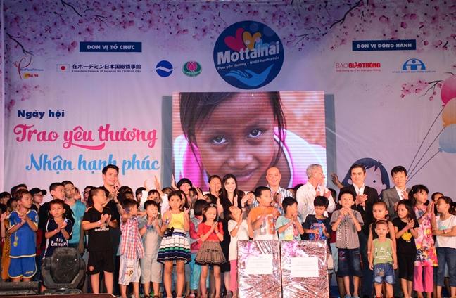Gan 105 trieu dong thu duoc tu Ngay hoi Mottainai 2017