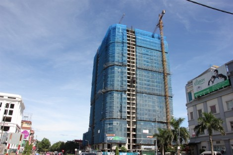 Xây vượt phép, trung tâm thương mại ở Nghệ An bị yêu cầu tháo dỡ 3 tầng