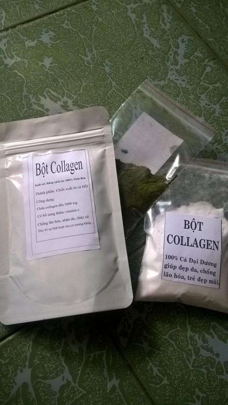 Khi 'tiên dược' collagen bán bằng bao, mua bao nhiêu có bấy nhiêu