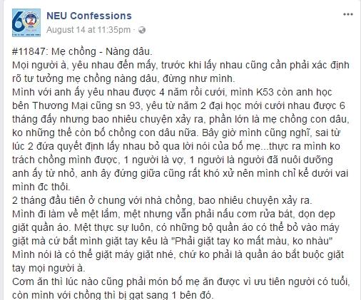 Co con dau bi 'nem da' the tham khi len mang to bo me chong kho tinh, kho chieu