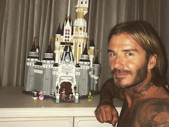 Ky cong xep lau dai tang con gai yeu, David Beckham khien fan phat sot