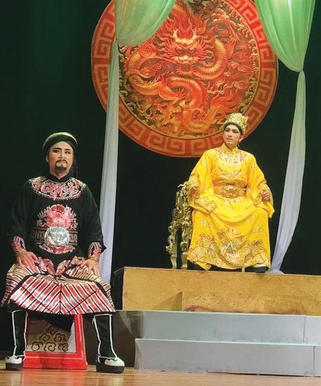 Cai luong nhon nhip  - mung nhung van lo