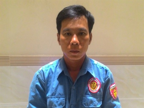 Nam bảo vệ cướp giật dây chuyền ở Sài Gòn