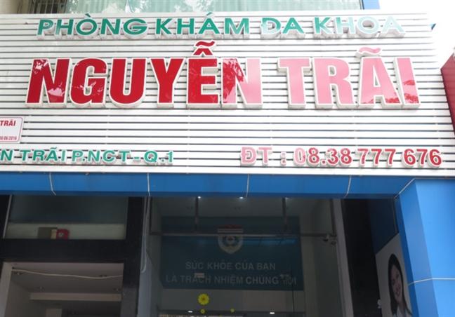 Benh nhan to Phong kham Nguyen Trai doa ung thu de ve tien