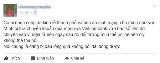 Canh bao 'tieu thuong online' lien tuc bi lua chiem tai khoan ngan hang