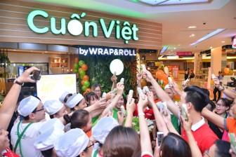 Nhà hàng Cuốn Việt có mặt tại trung tâm thương mại Sense City Cần Thơ và Bến Tre
