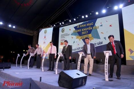 Ngập hàng khuyến mại, giảm giá tại chương trình hội tụ hàng Việt 2017