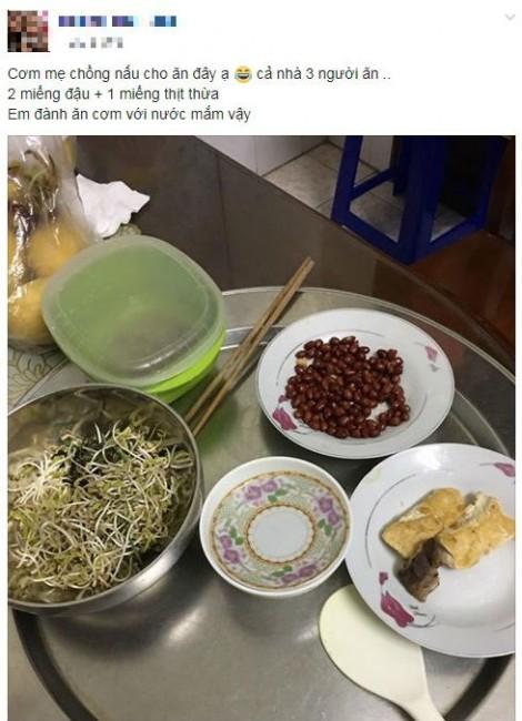 Nhịn nhục mẹ chồng, ăn cơm thừa để sống qua ngày với chồng con