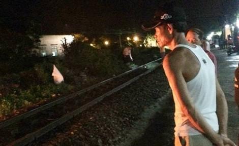 Thanh niên bị tàu hỏa kéo lê 20m, thi thể không còn nguyên vẹn