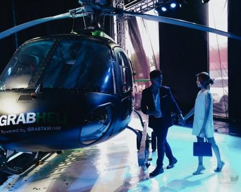 Người dùng Grab sắp gọi được cả... máy bay trực thăng
