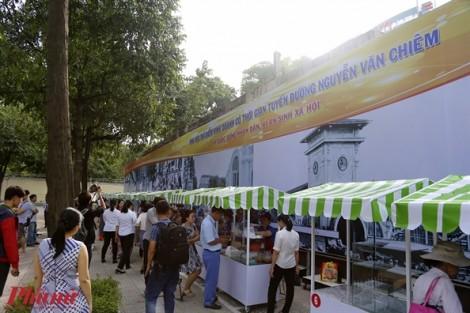 Khai trương phố hàng rong cho người nghèo ở trung tâm Sài Gòn