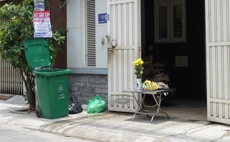 Thi thể bé trai bị vứt trong thùng rác ở Sài Gòn