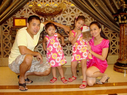 Can canh cuoc song sung tuc cua 3 chi em Cam Ly, Ha Phuong, Minh Tuyet