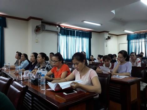 Lãnh đạo quận Tân Phú gặp gỡ, đối thoại với cán bộ, hội viên phụ nữ