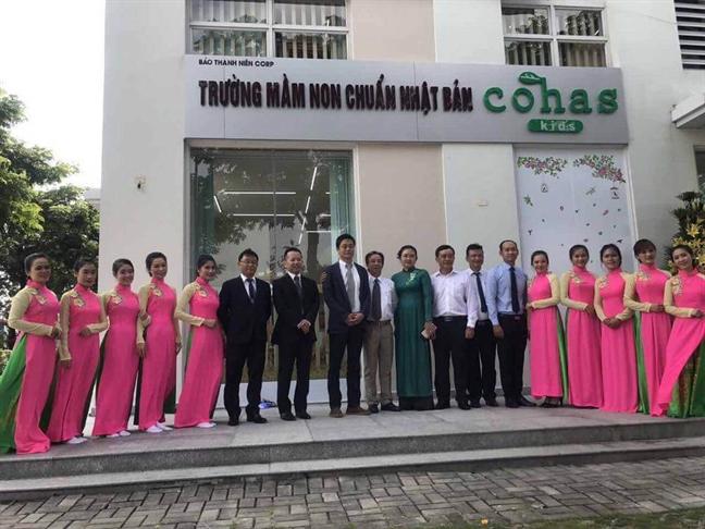 TP.HCM co truong mam non chuan Nhat Ban