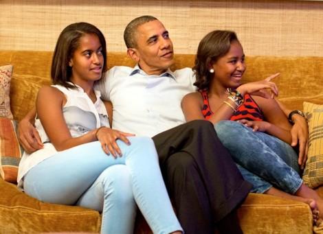 Barack Obama: Ông bố truyền cảm hứng nhất hành tinh