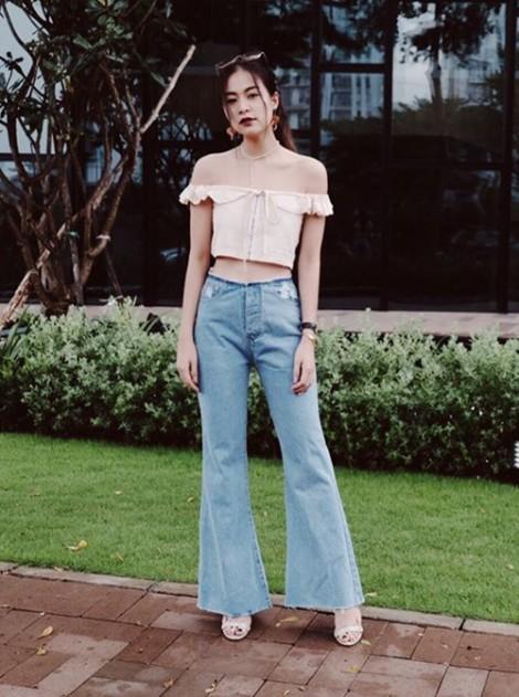 Hoàng Thùy Linh, Văn Mai Hương mỗi người một vẻ với quần suông, áo trễ