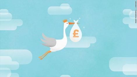 Chưa ra đời, em bé Hoàng gia thứ ba đã giúp nước Anh kiếm bộn tiền
