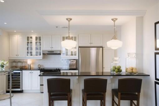 'Tham vọng' nhà bếp tiện nghi trong căn hộ nhỏ