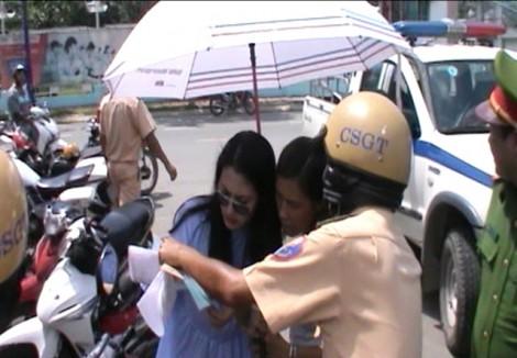 Ngọc Lan trần tình khi bị cho phạm luật giao thông vẫn lớn tiếng với cảnh sát