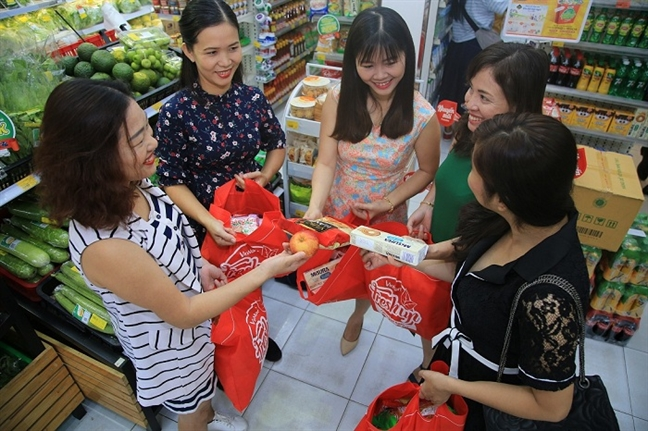 Chi em Sai thanh hoi hop cho rinh 'tui than' fresh bag tu sang som