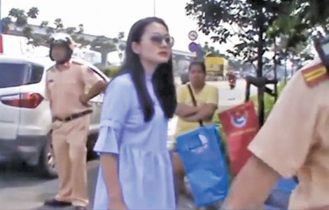 Vụ diễn viên Ngọc Lan 'to tiếng' với cảnh sát giao thông: Sai là sai!