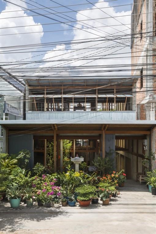 Ngỡ ngàng trước 'tác phẩm' kiến trúc xanh hiện đại, tinh tế ở An Giang