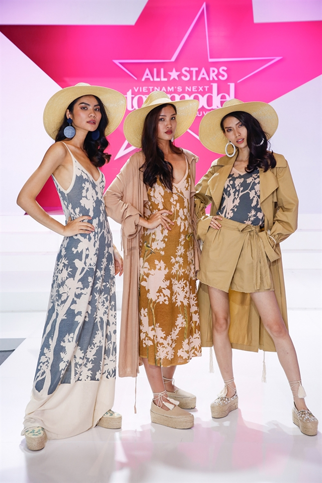 Kim Dung dang quang Vietnam's Next Top Model 2017
