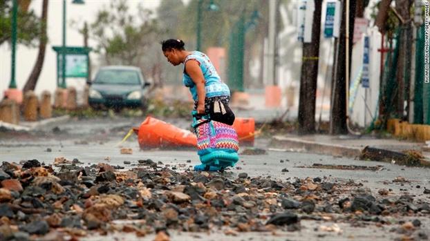 Hang ngan nguoi dan My thao chay vi bao Irma