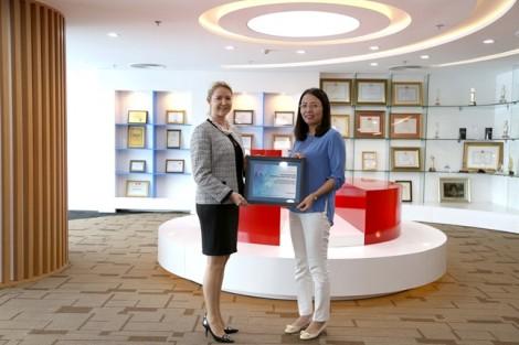 Maritime Bank nhận giải thưởng Elite Quality Recognition Awards năm 2017