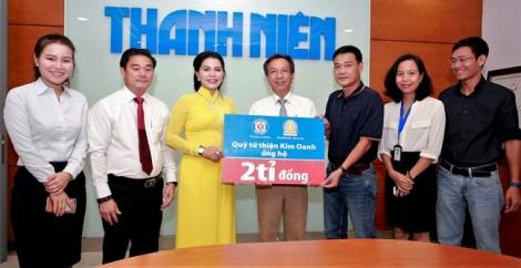 Báo Thanh Niên và Kim Oanh Group chung tay vì học sinh nghèo hiếu học