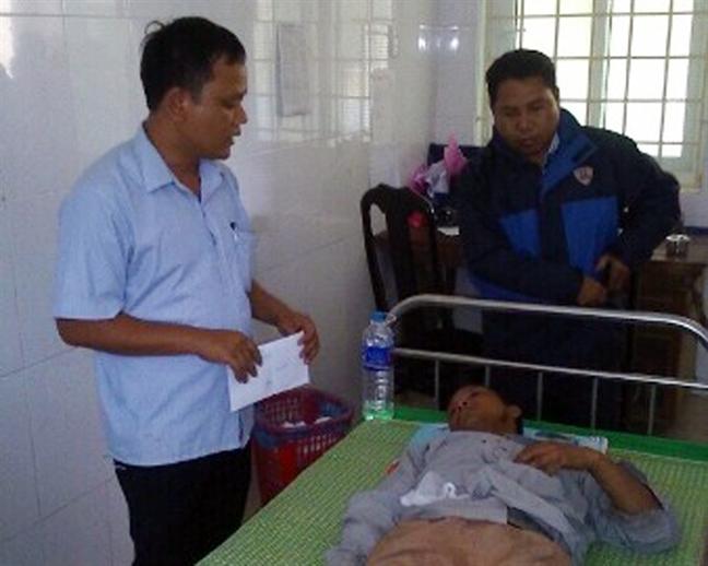 Khon kho bua vay que ngheo Quang Tri sau con dai cuong phong Doksuri