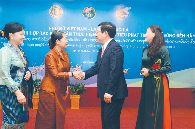 Phu nu Viet Nam, Lao, Campuchia chung tay nang vi the, quyen nang nu gioi