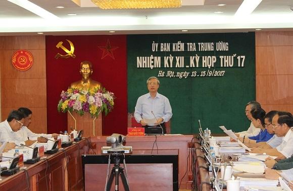 Uy ban Kiem tra Trung uong ket luan nhieu sai pham tai Thanh uy Da Nang
