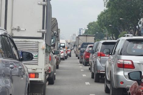 TPHCM sẽ thu phí ôtô vào nội đô để chống ùn tắc