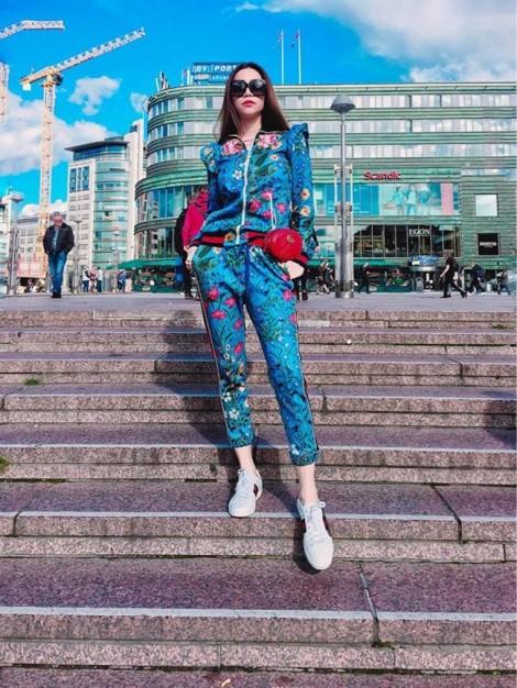 Sao Việt đọ gu thời trang với túi đeo hông hàng hiệu
