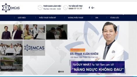 Vụ một phụ nữ hôn mê sau gọt cằm ở Bệnh viện Emcas: Sở Y tế TP.HCM niêm phong hồ sơ