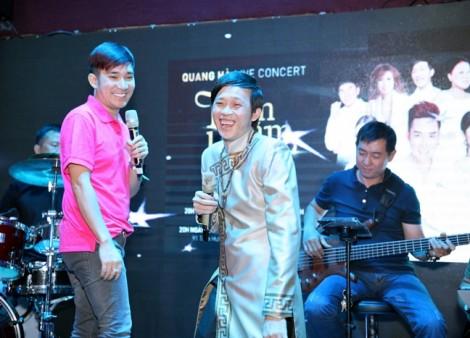 Hơn 200 người cật lực phục vụ cho live concert của Quang Hà