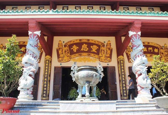 Lac coi tam linh trong ngoi chua linh thieng o Da Nang