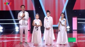 Thí sinh 'Giọng hát Việt nhí 2017' gào thét trong đêm mở màn vòng đối đầu