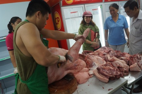 Mở điểm bán thịt heo an toàn giá rẻ quanh năm