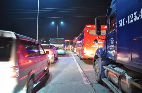 BOT Biên Hòa xả trạm lần 2 trong ngày vì tài xế trả tiền lẻ