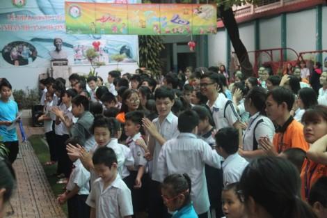 Mùa trung thu đầy ấm áp với trẻ em trường đặc biệt Nguyễn Đình Chiểu