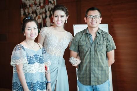 Bố Á hậu Huyền My: 'Nhìn con gái ăn uống mà xót'