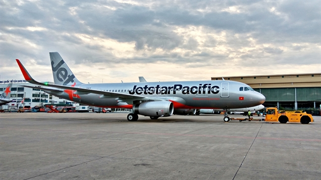 Jetstar Pacific se han che viec huy chuyen