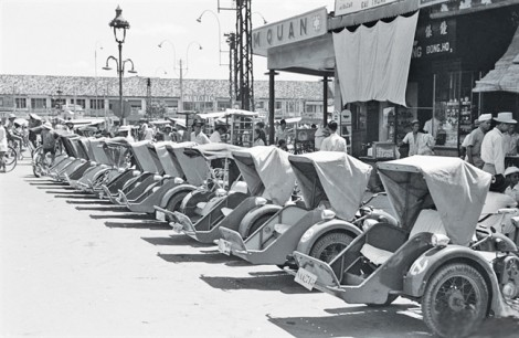 Nhớ xích lô máy Sài Gòn - Chợ Lớn