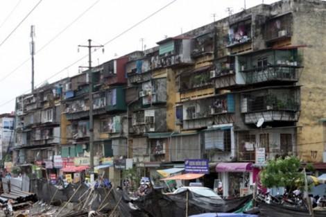 Ủy quyền cho quận, huyện cải tạo, sửa chữa chung cư cũ: Tiến độ vẫn không chạy