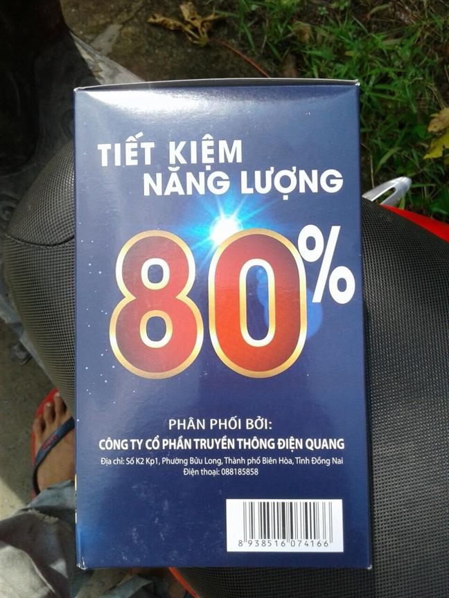 Loi dung thuong hieu bong den Dien Quang dẻ lùa bán hàng dỏm