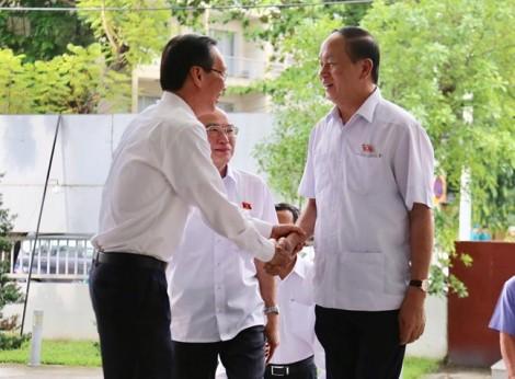 Chủ tịch nước Trần Đại Quang lắng nghe bức xúc của cử tri TP.HCM
